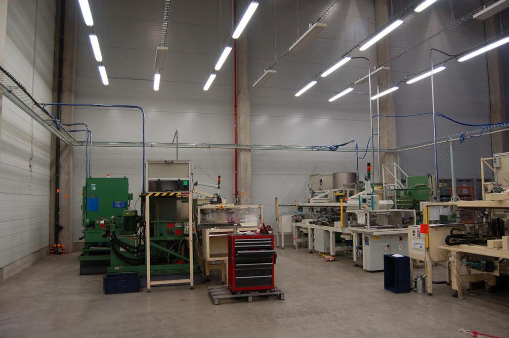 elektroinstalce a elektro revize výrobních technologií
